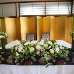 メインテーブル装花3