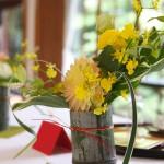 ゲストテーブル装花1