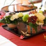 ゲストテーブル装花4