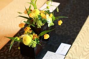 ゲストテーブル装花8