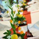 ゲストテーブル装花7