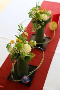 ゲストテーブル装花9
