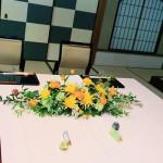 メインテーブル装花5