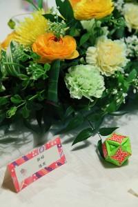 ゲストテーブル装花12