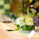 ゲストテーブル装花14
