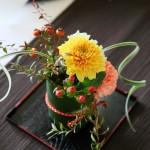 ゲストテーブル装花13