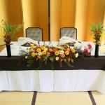 メインテーブル装花7