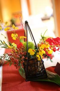 ゲストテーブル装花16