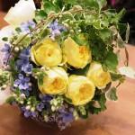 江南市の花屋アイビーのブーケ