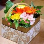 江南市の花屋アイビーのフラワーボックス